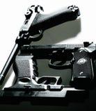 Kanonnen stock afbeelding