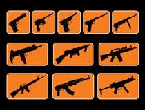 Kanonnen Royalty-vrije Stock Afbeeldingen