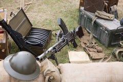 Kanonnen en kogels stock fotografie