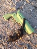 Kanonnen uitstekend stuk speelgoed Stock Fotografie
