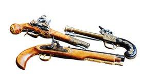 Kanonnen uitstekende antiquiteit stock fotografie