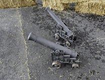 Kanonnen van Oorlog royalty-vrije stock afbeeldingen