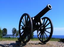 Kanonnen van oorlog Royalty-vrije Stock Foto's