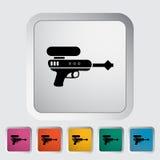 Kanonstuk speelgoed Stock Afbeelding