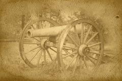 kanonu rocznika wojna Zdjęcia Stock
