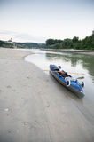 Kanoreis de Donau Stock Fotografie