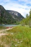 Kanot på Lakeside 03 Royaltyfria Foton