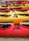 kanoter Royaltyfria Bilder