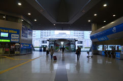 Kansai Airport Railway Station Stock Photography