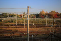 Kansai area of Train view out of train Royalty Free Stock Photography