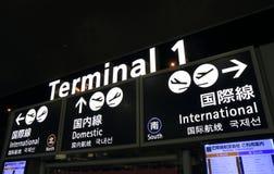 Kansai international airport Royalty Free Stock Photo