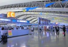 Kansai internationell flygplats Osaka Japan royaltyfri fotografi