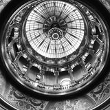 Kansas Capitol Dome Interior In Black And White Royalty Free Stock Images