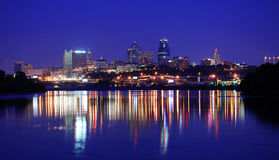Kansas City. A view of the Kansas City Skyline Downtown stock image
