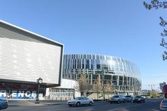 Kansas City-Basketball-Arena Lizenzfreies Stockfoto
