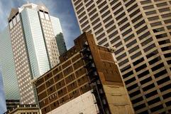 Kansas City buildings. Urban City Buildings in downtown Kansas City Stock Photos