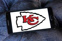Kansas City Chiefs american football team logo Royalty Free Stock Photos