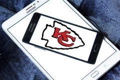 Kansas City Chiefs american football team logo Stock Photos
