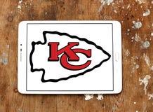Kansas City Chiefs american football team logo Stock Photography