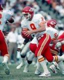 Kansas City Chiefs QB Bill Kenney Royalty Free Stock Images