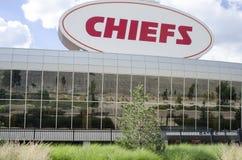 Kansas City Chiefs Stadium Stock Photo