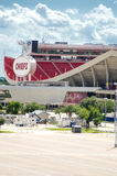 Kansas City Chiefs Stadium Royalty Free Stock Photography