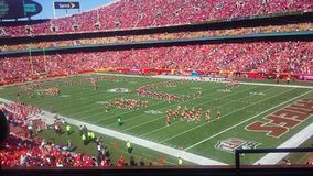 Kansas City Chiefs VERSUS Pittsburgh Steelers Stock Foto's