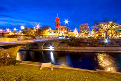 Kansas City Christmas Royalty Free Stock Photography