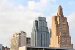 Kansas City da baixa Imagem de Stock