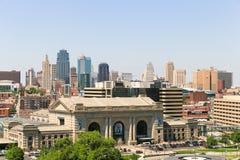 Kansas City da baixa Imagem de Stock Royalty Free