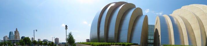 Kansas City hali koncertowej panorama Fotografia Royalty Free