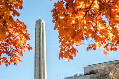 Kansas City Liberty Memorial Tower in the Fall Stock Photos