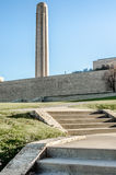 Kansas City Liberty memorial tower outside museum Royalty Free Stock Image