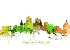 Kansas City Missouri ilustração do vetor