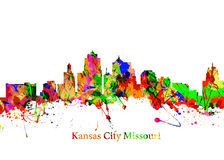 Kansas City Missouri Fotografia de Stock Royalty Free
