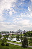 Kansas city Missouri skyline,Union Station,buildings, Stock Photo