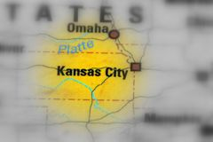 Kansas City, Missouri, Vereinigte Staaten U S A stockfoto