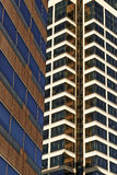 Kansas City Modern Office Buildings & Condos Royalty Free Stock Photography