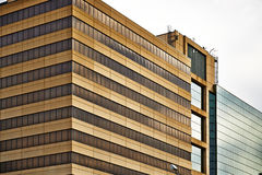 Kansas City Modern Office Buildings Royalty Free Stock Image