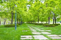 Kansas City Museum Garden Walk Royalty Free Stock Photography
