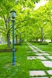 Kansas City Museum Garden Walk Royalty Free Stock Photo