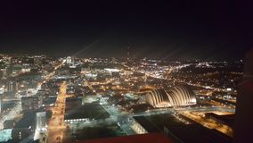 Kansas City. Night Sky royalty free stock photo