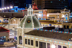 Kansas City Plaza Lights Stock Image