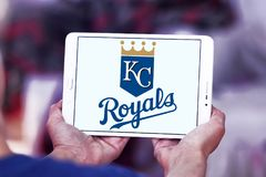 Kansas City Royals baseball team logo. Logo of Kansas City Royals team on samsung tablet. The Kansas City Royals are an American professional baseball team Stock Image