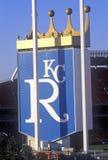 Kansas City Royals baseballstadion, Kansas City, MO Royaltyfri Fotografi