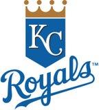 Kansas city royals MLB Royalty Free Stock Photos