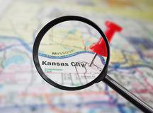 Kansas City search Stock Photography