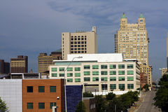 Kansas City skyline. Missouri, USA Royalty Free Stock Images