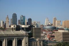 Kansas City Skyline Royalty Free Stock Image