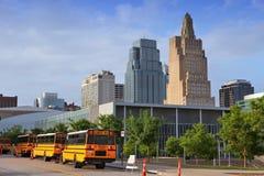 Kansas City-Skyline Lizenzfreies Stockfoto